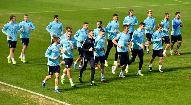 Віда не взяв участь у першому тренуванні Хорватії, яка почала готуватися до України