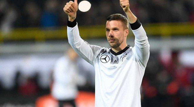 Подольски проводит прощальный матч за сборную Германии