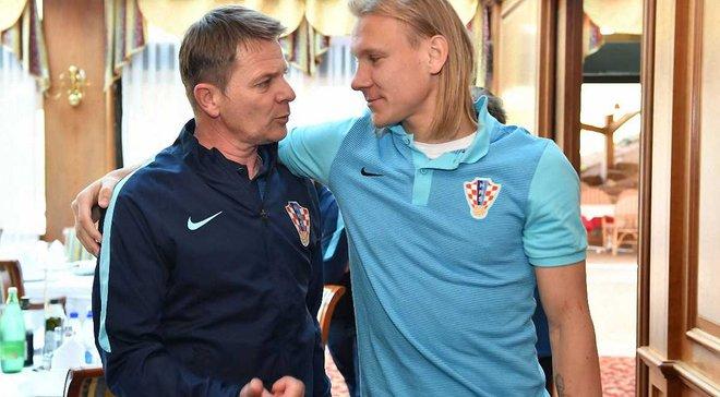 Вида вернулся к тренировкам перед матчем с Украиной