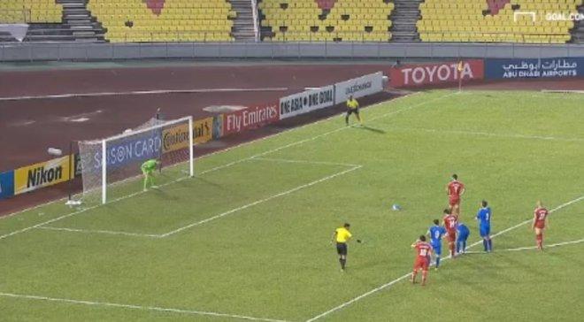 Нападник збірної Сирії Храбін забив переможний пенальті у стилі Панєнки в компенсований час