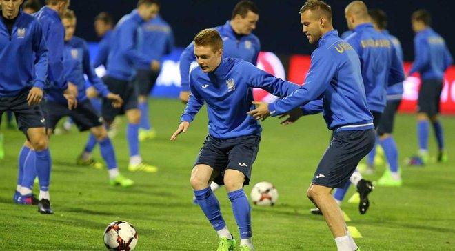 Хорватия – Украина: Команды определились с цветом формы на матч