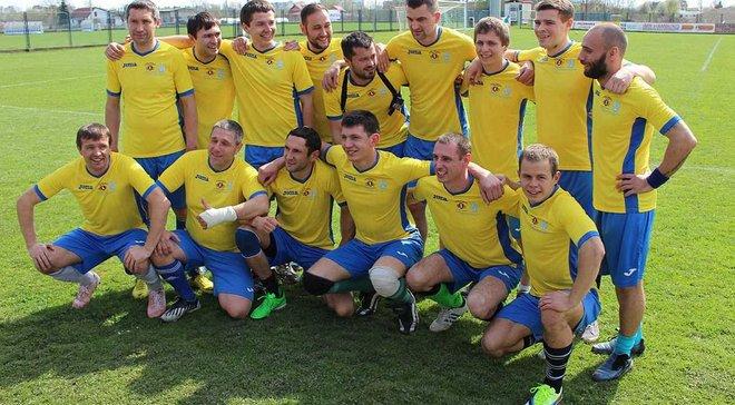 Украинские фанаты вместе с воинами АТО сыграли товарищеский матч против хорватов