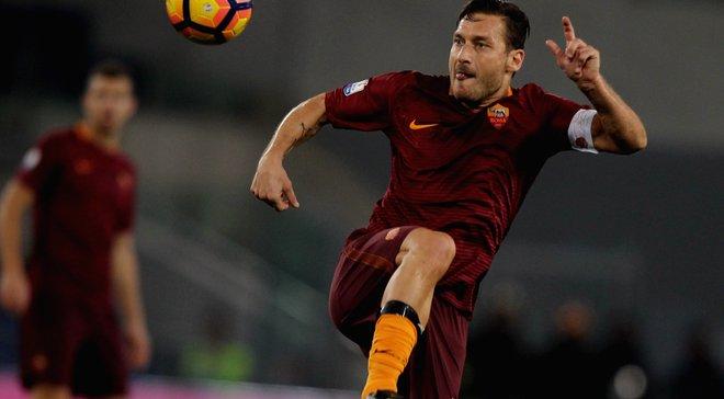 Тотти: Жалею, что не сыграл с Роналдо в одной команде