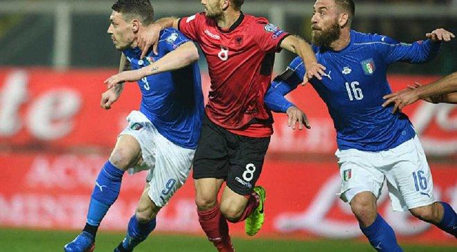 Відбір до ЧС-2018. Іспанія перемогла Ізраїль, Італія здолала Албанію