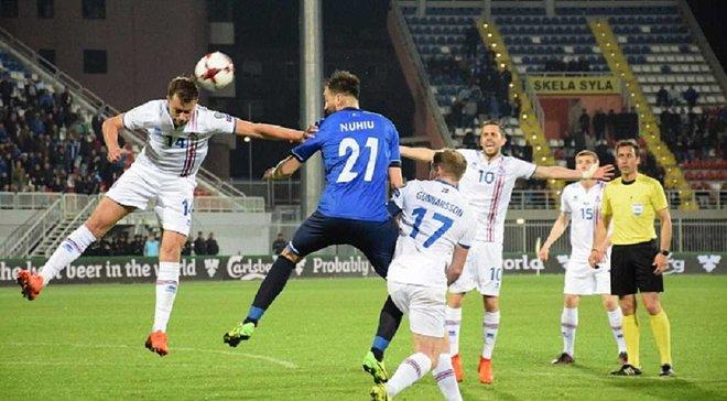 Косово – Ісландія – 1:2. Відео голів та огляд матчу