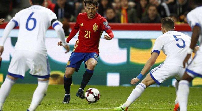 Испания – Израиль – 4:1. Видео голов и обзор матча