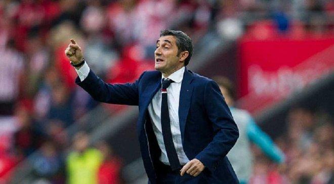 """""""Барселона"""" официально опровергла информацию о ведении переговоров с Вальверде"""