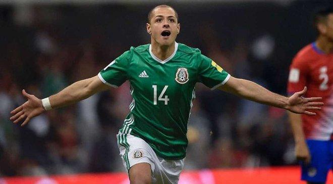 Чичарито повторил рекорд по количеству голов в сборной Мексике