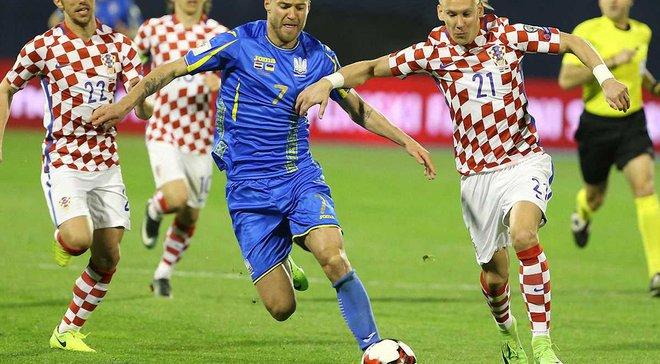 Кузнєцов: Різниця між гравцями України і Хорватії чітко помітна