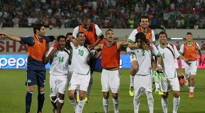 Нападающий сборной Иордании Баваб забил роскошный гол ножницами в ворота Гонконга