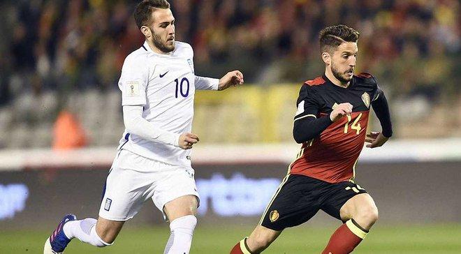 Бельгия – Греция – 1:1. Видео голов и обзор матча