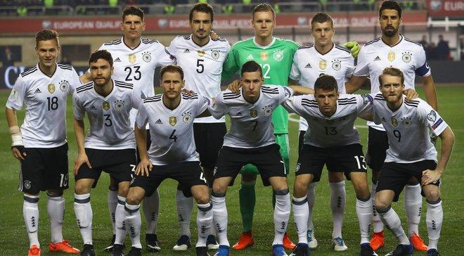Німеччина впевнено перемогла Азербайджан