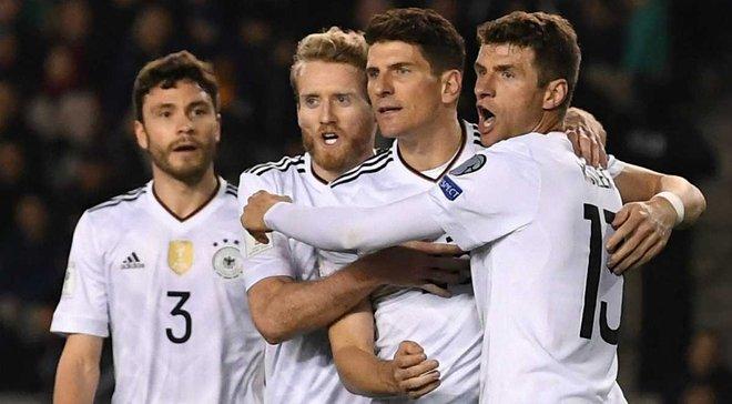 Германия продемонстрировала лучший старт отборочной кампании в истории