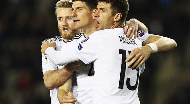Легке життя Англії та Німеччини, відродження Шотландії. Топ-5 підсумків недільних матчів відбору до ЧС-2018