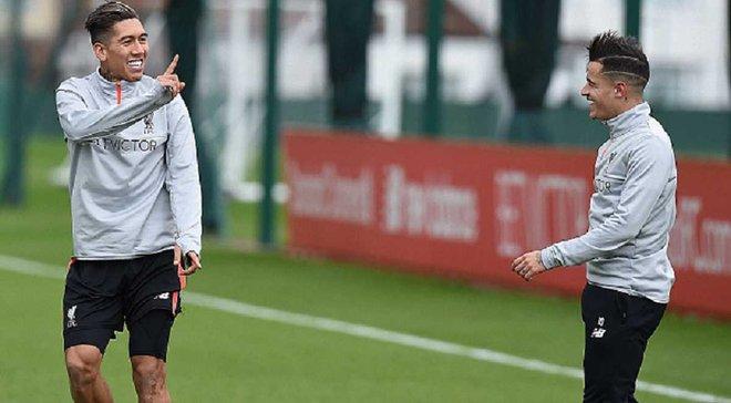 """""""Ліверпуль"""" замовив особистий літак для Фірміно та Коутінью, щоб ті якнайшвидше повернулися після матчу збірної Бразилії"""