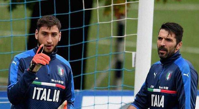 Доннарумма побив рекорд Буффона в збірній Італії як наймолодший голкіпер у стартовому складі