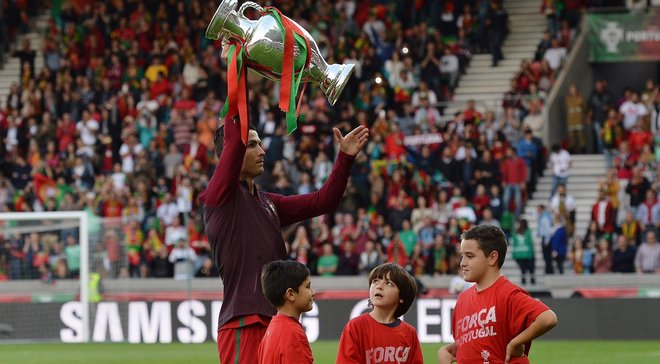 Роналду увійшов у топ-3 найкращих бомбардирів європейських збірних