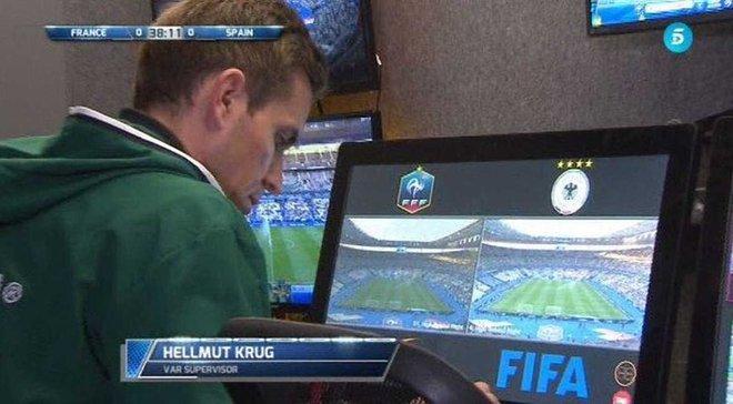 Гол Гризманна в матче Франция – Испания отменили благодаря видеоповтору