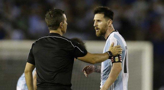 Мессі написав лист у ФІФА, вибачившись за лайку в матчі з Чилі