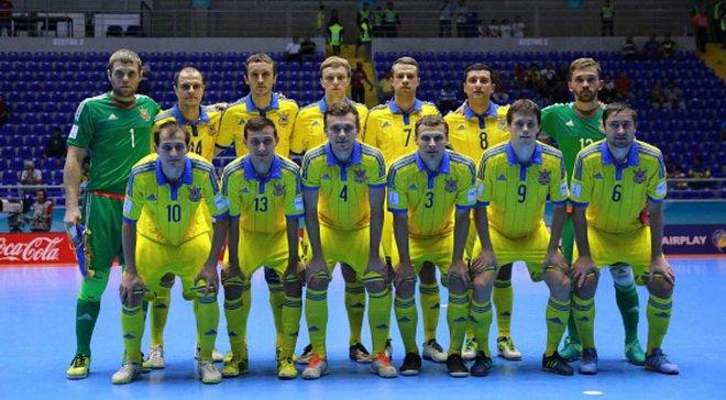 Збірна України з футзалу зіграє 3 матчі відбору до Євро-2018 у Києві