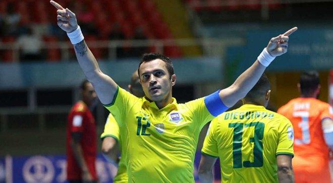 Король футзалу Фалькао забив кілька приголомшливих голів у благодійному матчі