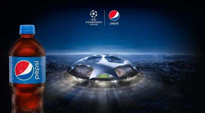 """""""Монако"""" – """"Борусія"""" Д: вгадай рахунок і виграй місячний запас Pepsi!"""