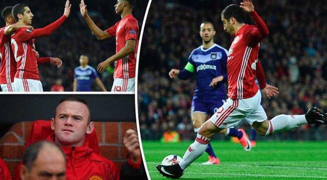 """""""Манчестер Юнайтед"""" – """"Андерлехт"""" – 2:1 (1:1). Відео голів і огляд матчу"""