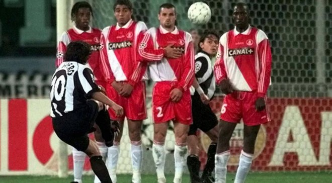 """Востаннє, коли """"Ювентус"""" і """"Монако"""" зустрічались у півфіналі ЛЧ, італійці зіграли у фіналі проти """"Реала"""""""