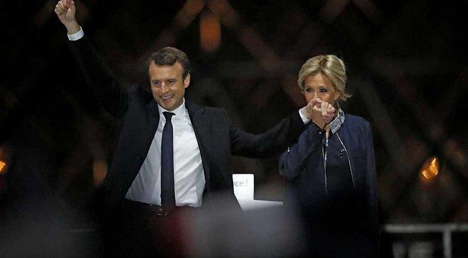 Новий президент Франції Макрон грав у французькій футбольній лізі