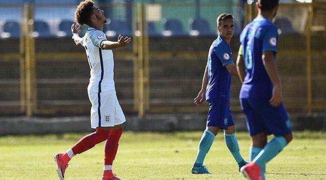 Англия победила Нидерланды и заняла первое место в группе D на Евро-2017 (U-17)