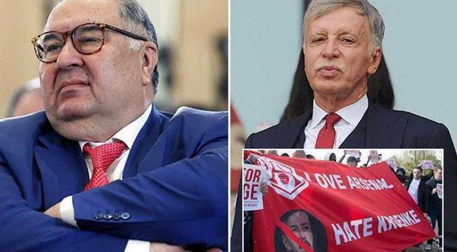 The Sun: Російський мільярдер Усманов пропонує 1 млрд фунтів за Арсенал