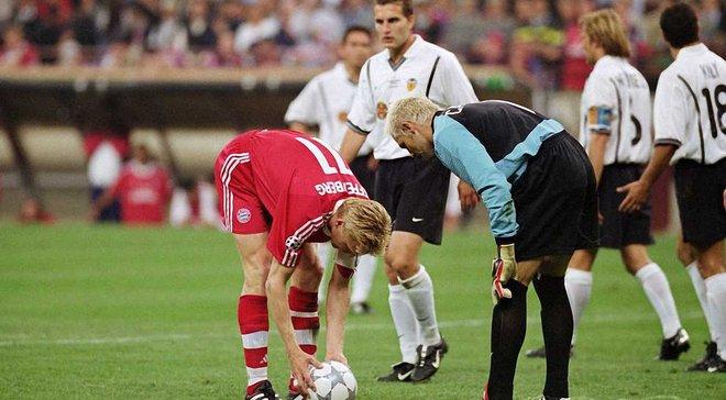 Футбол. лига чемпионов 2000- 2001. финал. бавария- валенсия