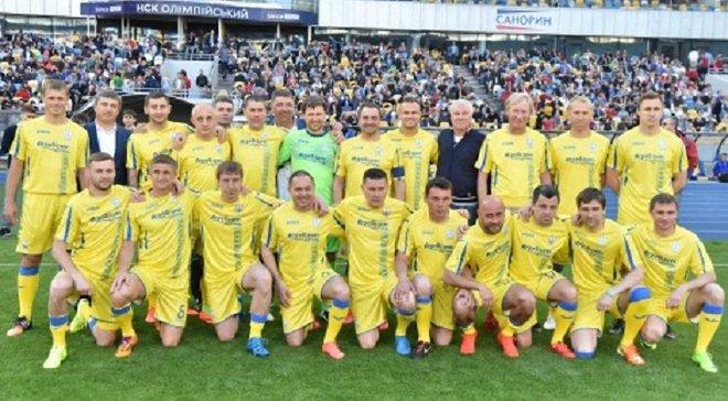 Збірна ветеранів України перемогла Ізраїль