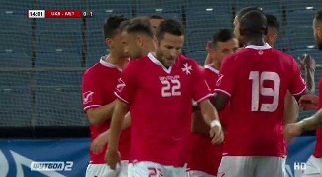 Украина – Мальта: 0:1, гол Муската