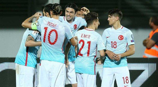 Косово – Туреччина – 1 4. Відео голів та огляд матчу - Футбол 24 15bed1f1ef398