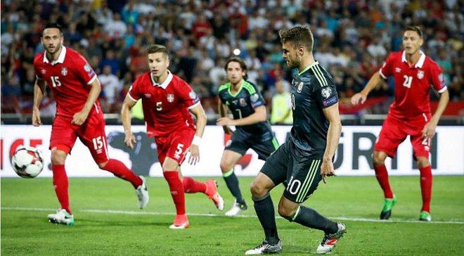 Сербия – Уэльс – 1:1. Видео голов и обзор матча
