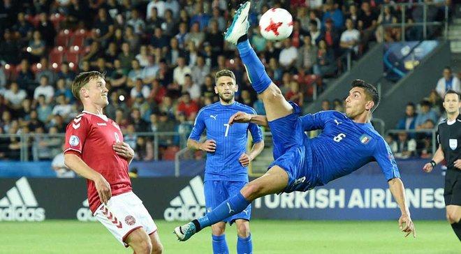 Італія забила Данії супергол на Євро-2017 U-21