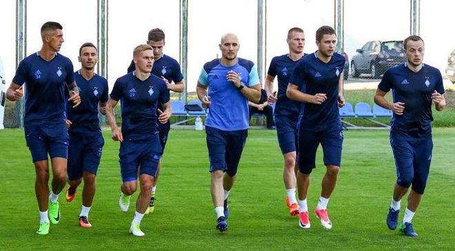 Динамо з Гусєвим та Хачеріді провело перше тренування під керівництвом Хацкевича