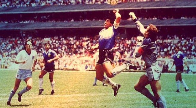 Рука Бога. Марадона, геніальний злодій і месія, у спекотному трилері Аргентина – Англія на ЧС-1986