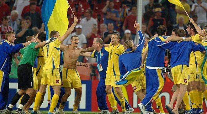 Швейцария – Украина: 12 лет назад украинцы вышли в 1/4 ЧМ-2006, достигнув исторической вершины с рекордом Шовковского