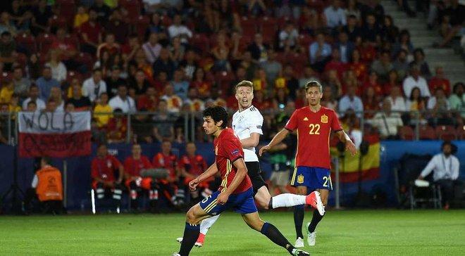Германия победила Испанию в зрелищном матче и выиграла Евро-2017 U-21