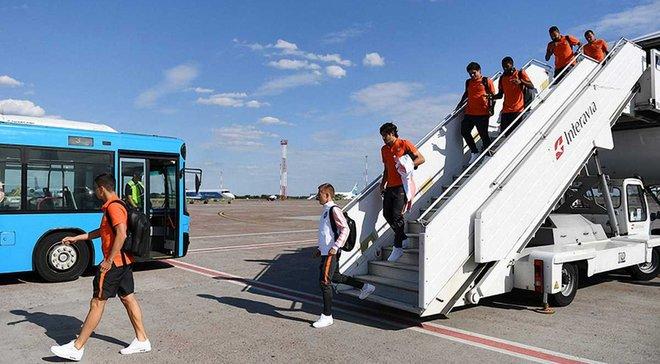 Шахтер вернулся в Киев