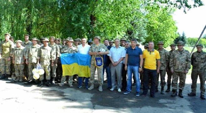 Керівництво ФФУ зустрілось з військовослужбовцями в зоні АТО