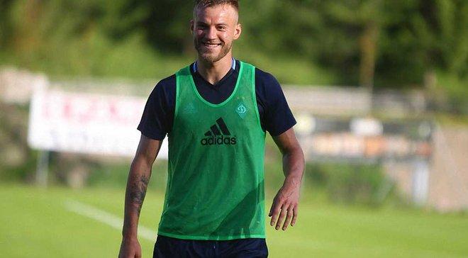Ярмоленко: Судить о нашей подготовке будем по результатам в чемпионате и Лиге чемпионов