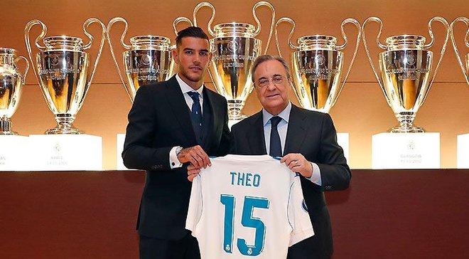 Тео Ернандес представлений в якості гравця Реала