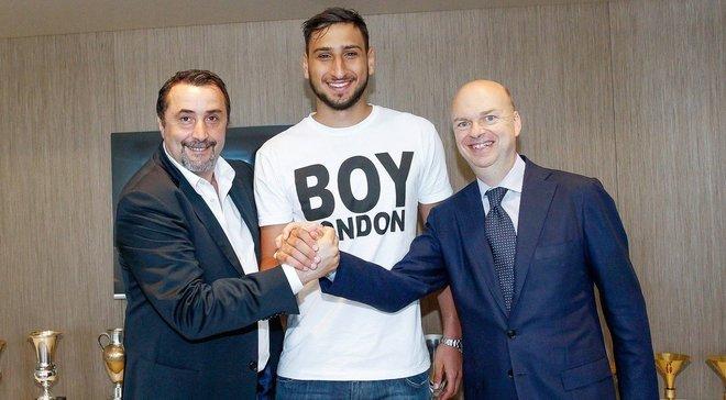 Доннарумма продовжив контракт з Міланом