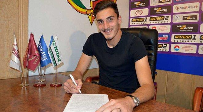 Гіоргадзе підписав контракт з Ворсклою