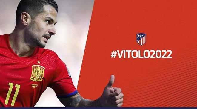 Витоло перешел в Атлетико, но пока будет играть за Лас-Пальмас