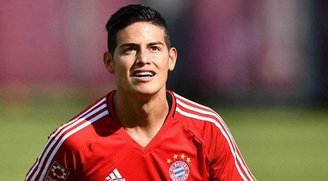 Хамес продовжив контракт з Реалом перед переходом у Баварію