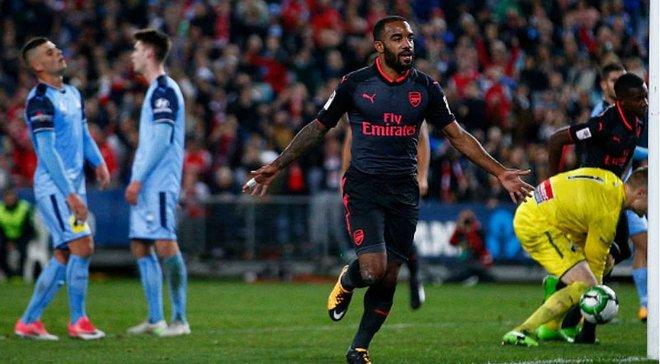 Ляказетт забил дебютный гол за Арсенал через 15 минут после выхода на поле
